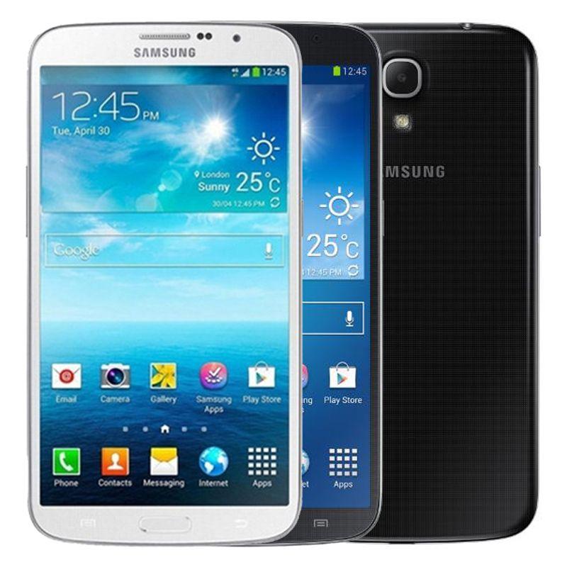 Восстановленная оригинальная Samsung Galaxy Mega 6.3 I9200 6,3 дюйма Двойное ядро 1.5 ГБ ОЗУ 16 ГБ РЗМ 8 МП 3G Разблокированный смартфон Бесплатный телефон DHL 30 шт.