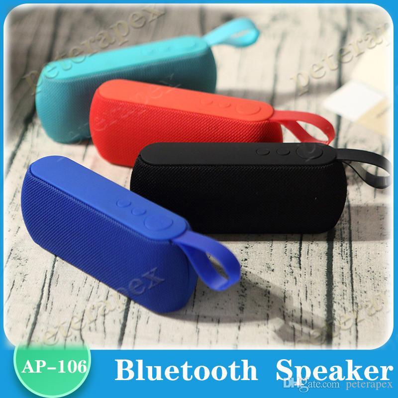 컴퓨터 전화 2020 HIFI 휴대용 무선 블루투스 스피커 스테레오 사운드 TF FM 라디오 음악 서브 우퍼 컬럼 스피커