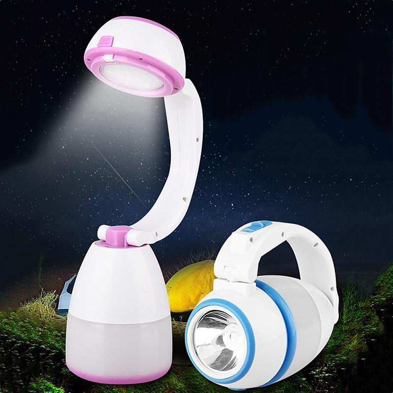 Çok İşlevli Açık Kamp Işık Taşınabilir Lanterna Fener Çadır Işık Gece Işıkları Yürüyüş Yürüyüş Başucu Okuma Kitap Için Ayarı Ile