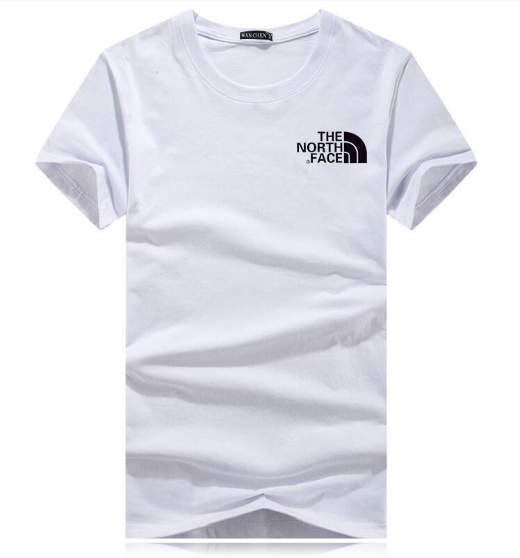 Los hombres al por mayor de 2020 el verano del diseñador para hombre de la camiseta del estilo europeo de terciopelo camiseta de cuello redondo de algodón de manga corta macho y hembra camisetas