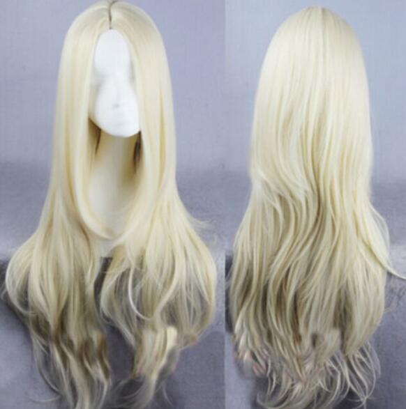 무료 배송 + + 새 여성 패션 긴 물결 모양의 가발