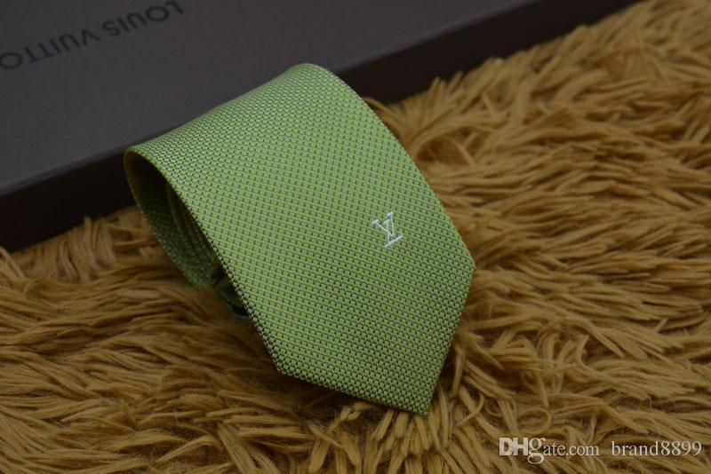 Men's ties 100% silk tie men's tie party Neck Ties business casual tie gift box packaging 12 style L1201