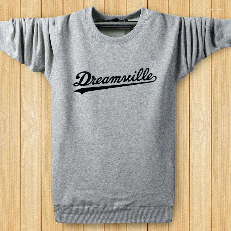 Men Crew Neck Dreamwille Letters Designer Sweatshirts Tops Spring Pullovers Hiphop Harajuku Hoodies