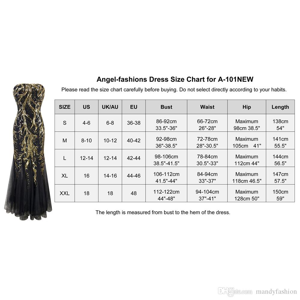 Angel-fashions Womens Sequin Strapless Paillette Tree Branch Tulle Mermaid Evening Dress