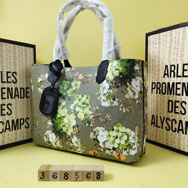Klasik moda lüks kadın el çantası rahat pratik cömert kadın tuval büyük ve küçük alışveriş çantası anne çantası 119