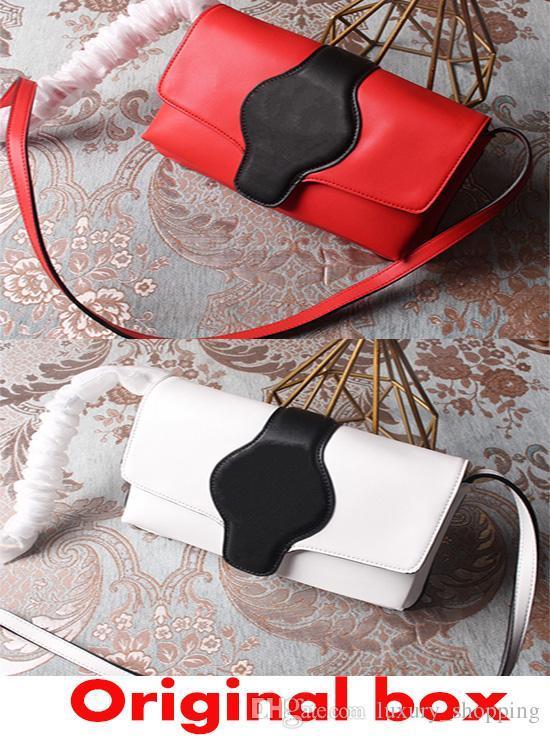 جديد الأزياء الفاخرة حقيبة أعلى جودة مصمم حقيبة المرأة حقيبة الكتف الكمال جلدية بلون الكلاسيكية أكياس إلكتروني مزدوج