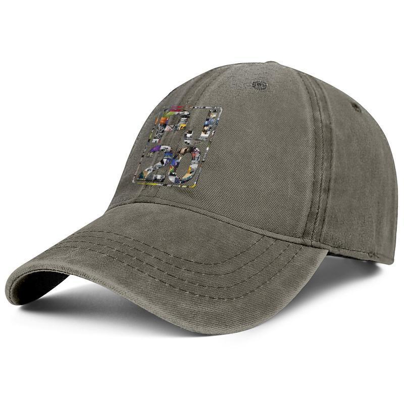 Men Women vintage Denim cap wash Adjustable Pearl Jam arts Twenty designer ball hat Cotton Dad caps Outdoor