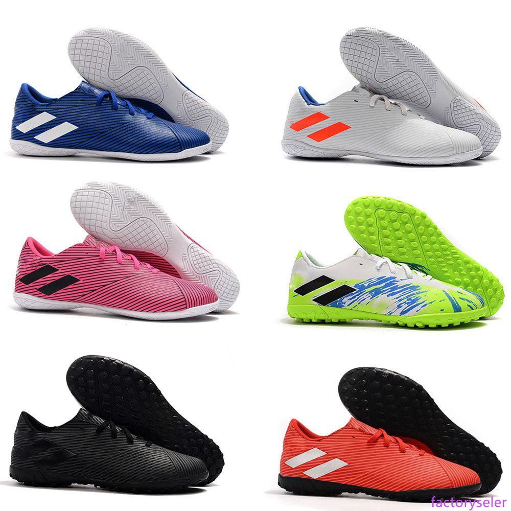 nouvelle Bon rapport qualité prix Nemeziz Messi Tango 19.4 Turf Intérieur Extérieur Crampons Hommes Chaussures de football Chaussures de football Taille 6,5 à 11