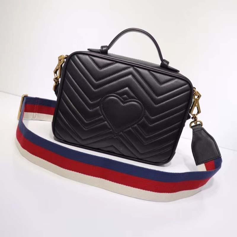 Borse di cuoio Crossbody per le donne 2020 Blocco speciale Messenger Bag Fashion Design Femminile Borse di viaggio