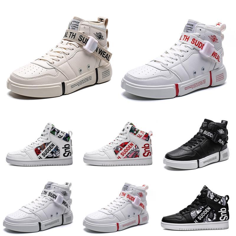 2020 Excelente não-Marca Mulheres Homens designer de moda sapatos brancos Preto Multi-Cores confortável Mens instrutor Sports Sneakers Estilo 16