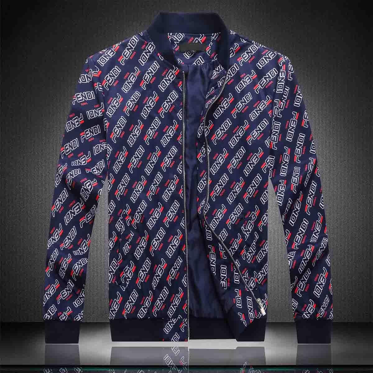 Padrão de moda jaqueta corta-vento manga comprida Mens Jackets Hoodie Vestuário Zipper Carta Com animal Plus Size Clothes M-3XL