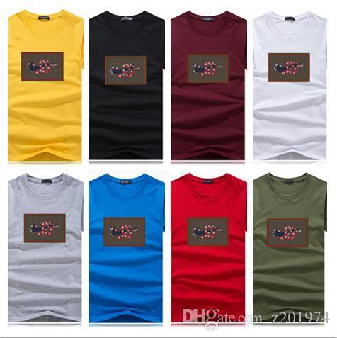 T-shirt 2020 hommes choisis coton de haute qualité matériel imprimé T-shirt T-shirt de femmes occasionnels, plus drôle