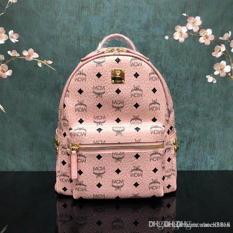 Limites globais Fashion Women Backpack 4 Pcs New cor sólida bonito Padrão Mochila Define Bolsa Escola Para Meninas Adolescentes Mochila 490 DXZ