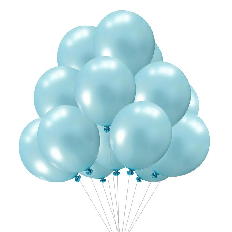15pcs birthday balloons 12inchLatex Helium balloon Thickening Pearl party balloon Party Ball kid child toy wedding ballons