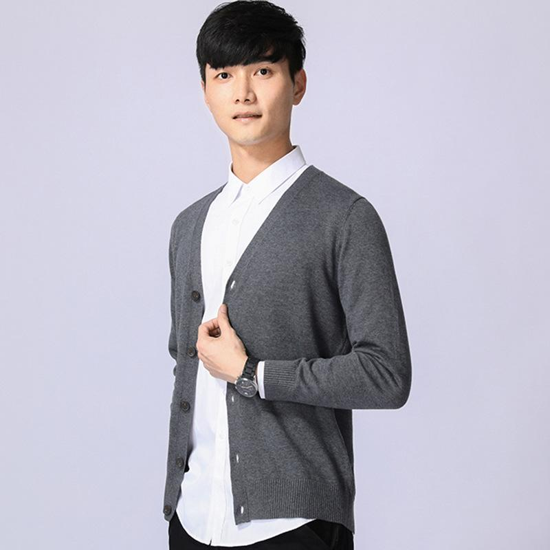 2020 Mens Knitted Cardigan 2020 Men Spring New Fashion V Neck Knitwear Knitted Sweaters And Cardigans Jumper Teenager From Bida Amy, $31.66 |