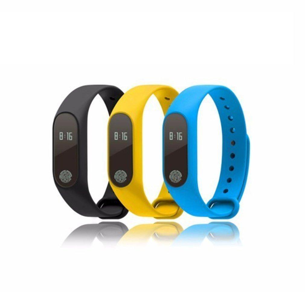 M2 Akıllı Bilezik Spor Bilezik Ekran Sports Tracker Yürüyüş Adımsayar Çalıştır Adım Kalori Sayacı Dijital LCD Bileklik