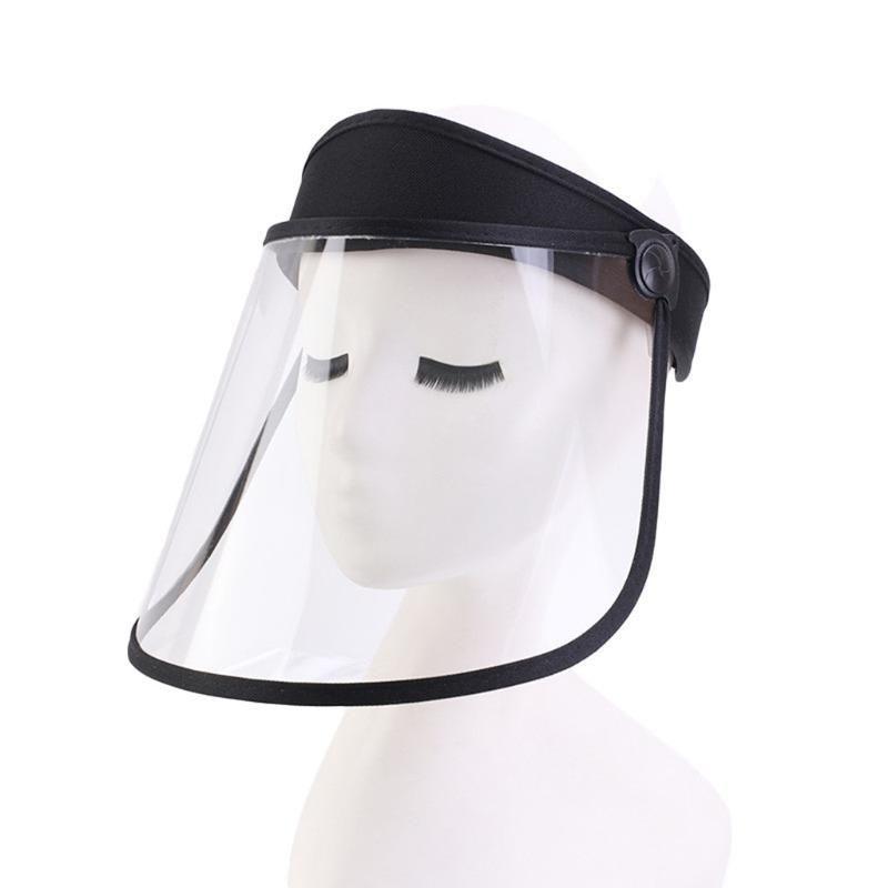 Chapéus ajustável para Mulheres Proteção UV Chapéu de Sol Feminino Anti-gota Saliva Esvaziar Top Hat transmissão à prova de vento de areia Tampão