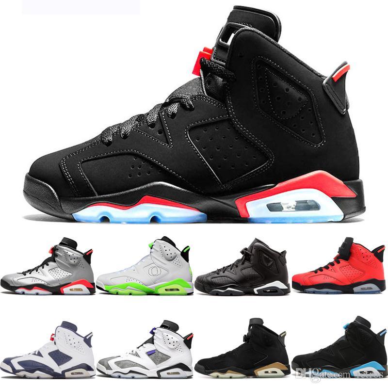 De calidad superior 6 zapatos de baloncesto de infrarrojos reflectante 6s Oregon cosecha de oro olímpica para la moda Hombre Hombres Mujeres cesta para hombre zapatillas de deporte