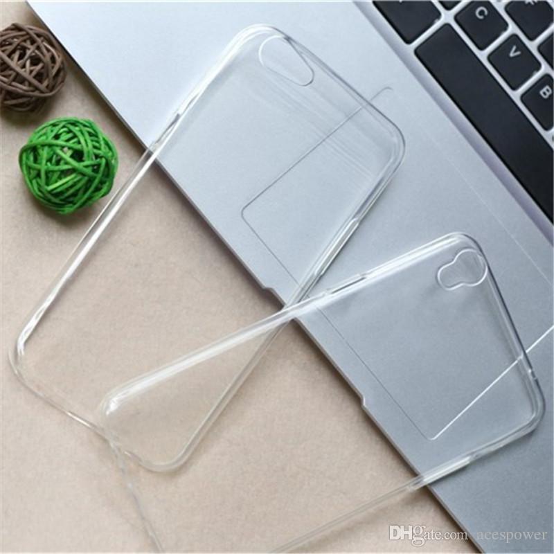 0.3mm TPU Fall Crystal Clear rückseitige Abdeckung für Huawei P30 Pro Samsung S10 Anmerkung 10 Plus-S10E Iphone 11 Pro XS MAX