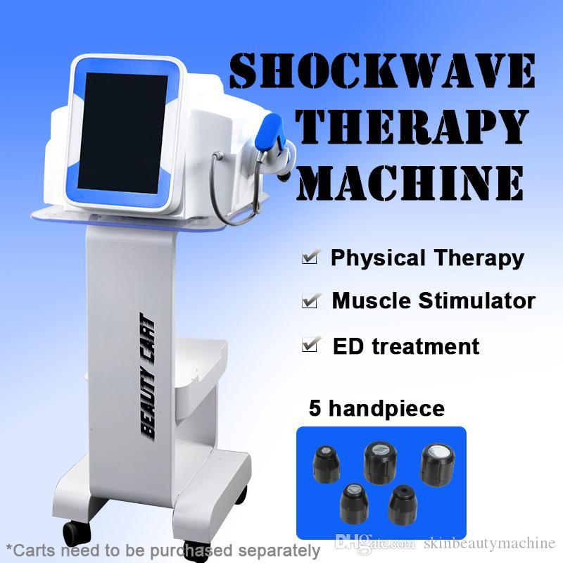 Shock Wave equipo de terapia para reducir la celulitis ED / disfunción eréctil Tratamiento onda de choque de la máquina 2 años de garantía