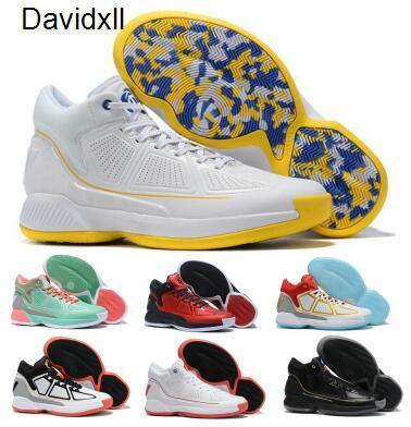 Деррик D Rose 10 10s Баскетбольной обуви Кроссовки Rose X десятого MVP Отказы Pink High Man Men 2020 Нового прибытие Zapatillas Boots обуви