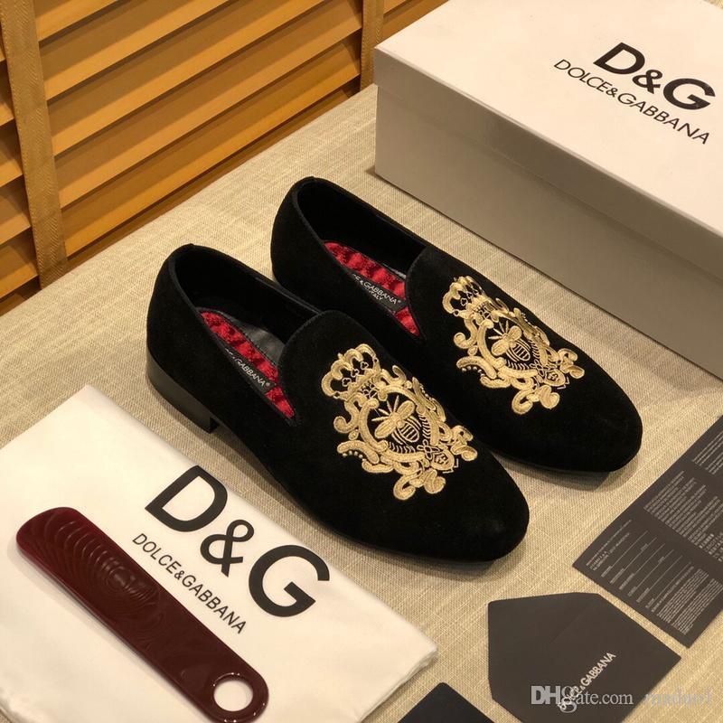 iduzi cuero DGbrands alta calidad de los hombres zapatos, resbalón en Brogues Bullock comerciales oxfords de los hombres calza 12 zapatos estilo de vestir de los hombres