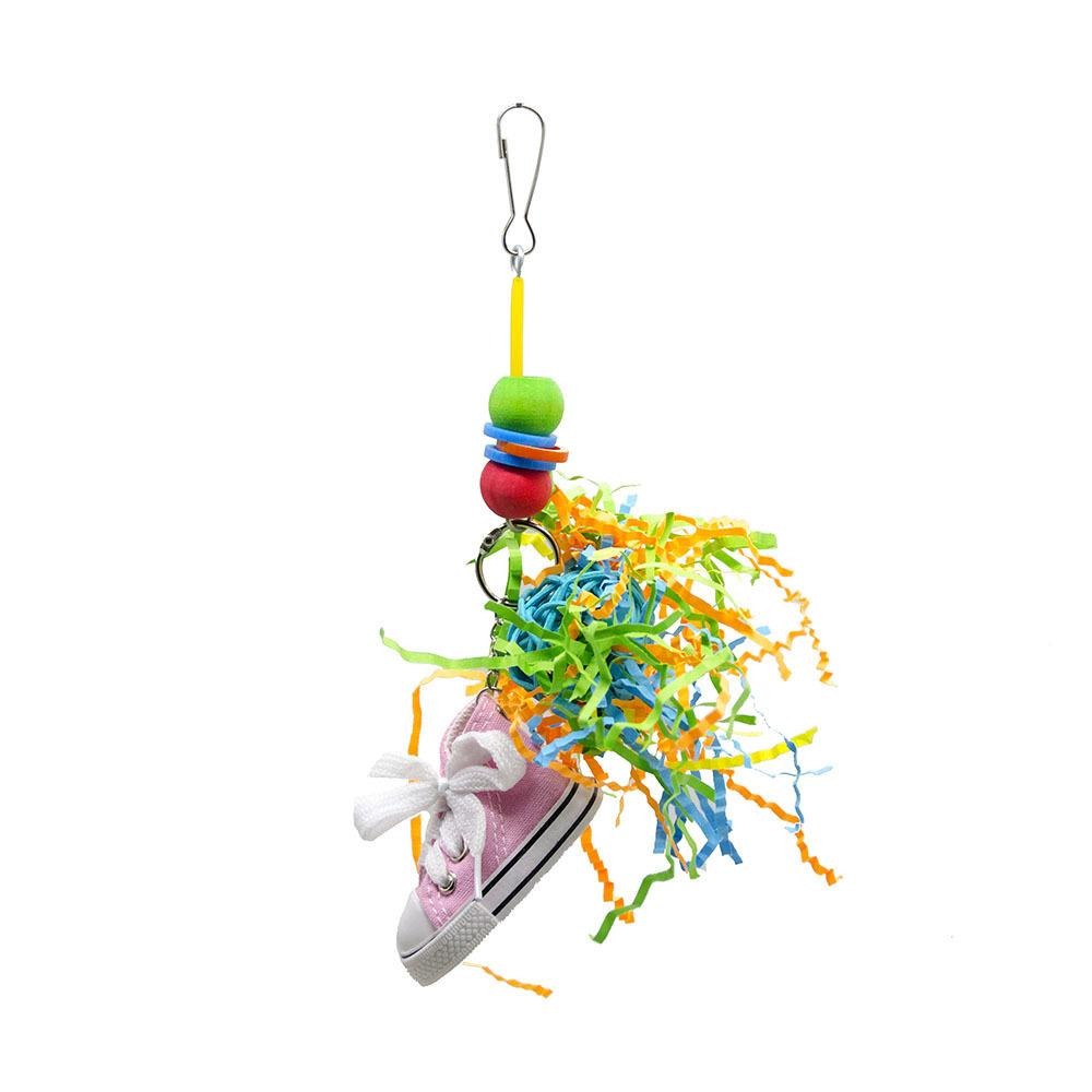 Toys Wire Drawing Grass Mini- Gym Shoes Second Gram Force Decoration Hanging String, Hanging String, Paper Thread Biting String Tearing