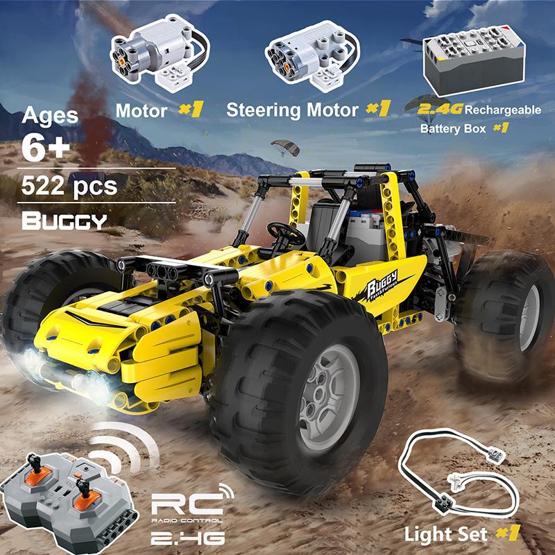 522pcs Buggy Technic remoto Escalada Controle All Terrain Off-Road caminhão do carro Fit Legoing Blocos Bricks Crianças Toy Presente