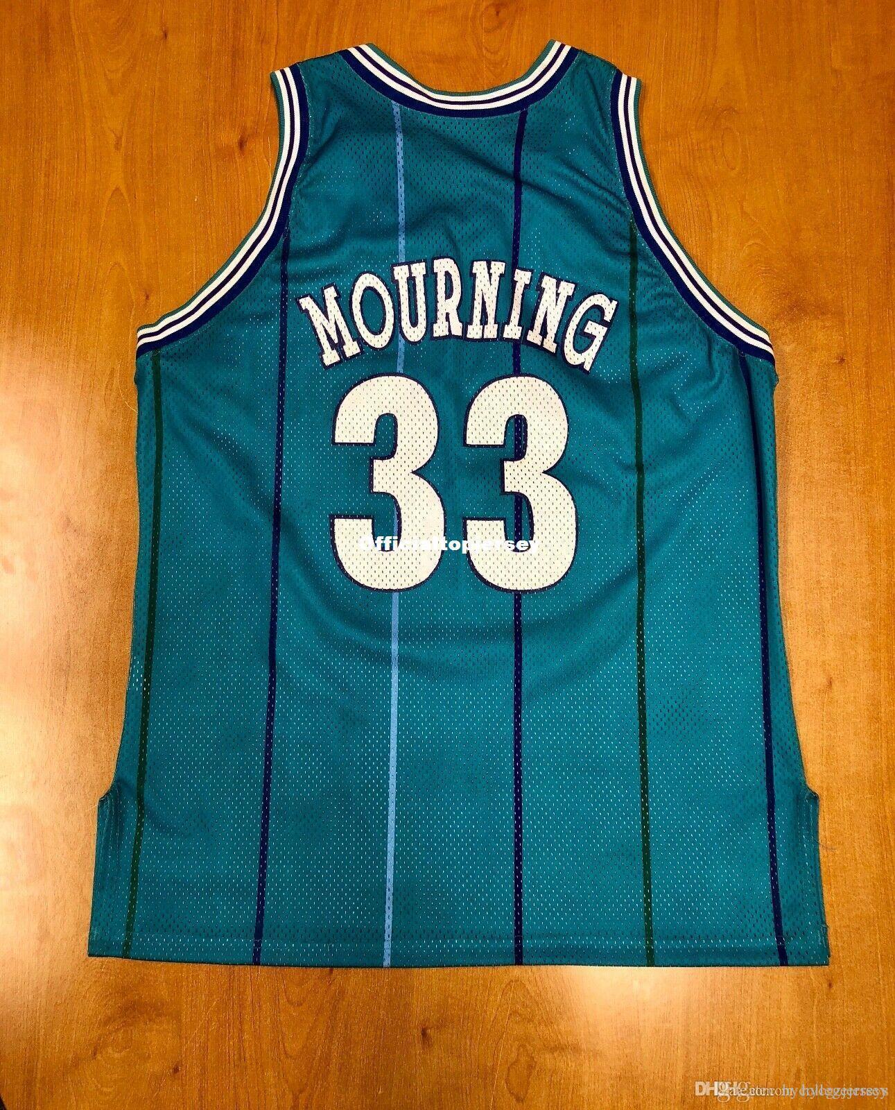 Дешевый Vintage Retro 1995 Моурнинг NOK Top Champion Джерси ходок Мужчина XS-5XL.6XL рубашки прошитого баскетбольное ретро NCAA