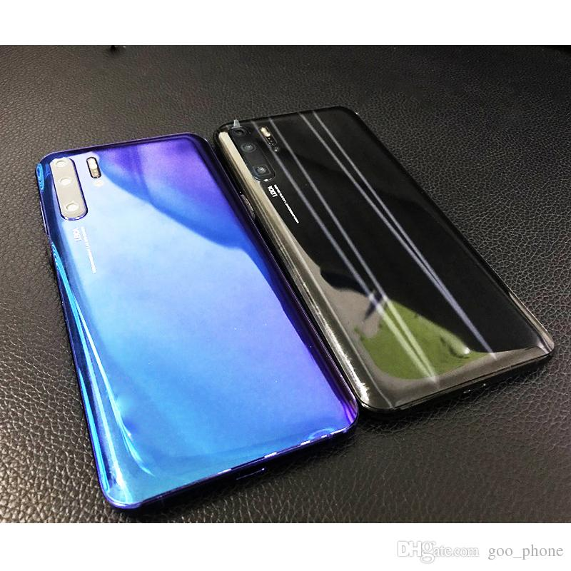 goophone P30 pro cellulare 6.5inch smart phone 3G cellulare WCDMA Quad Core MTK6580 1GB 4GB GPS Show falso 4G LTE