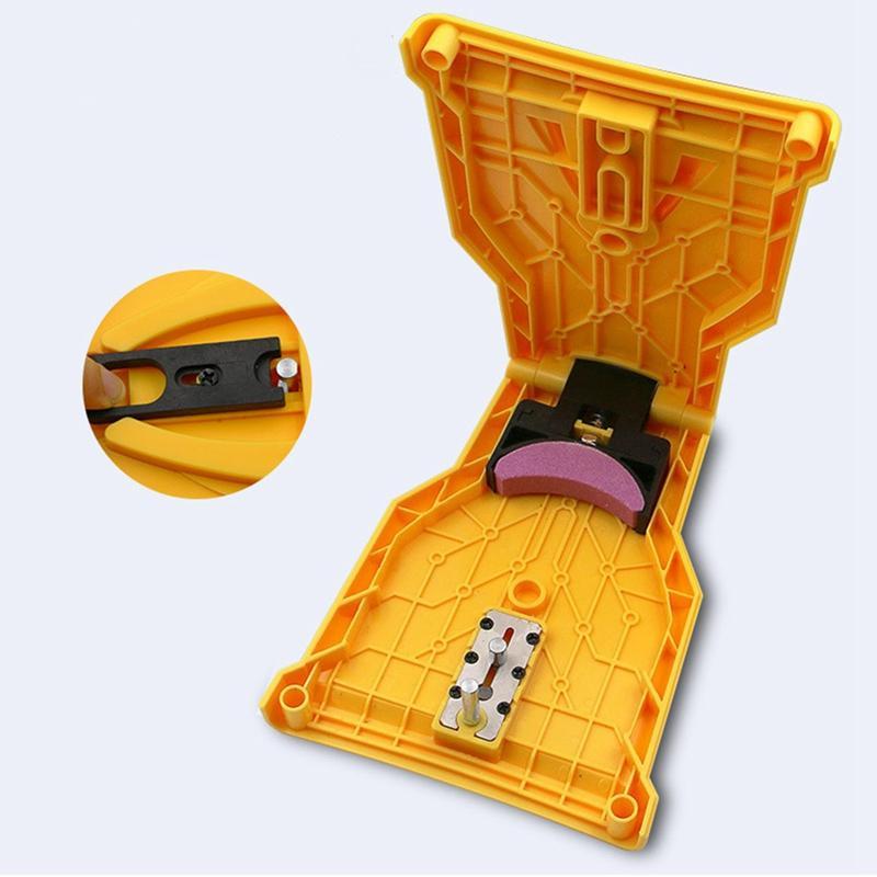 치아 깎이 톱 체인 깎이 바 장착형 빠른 연삭 전력 전기 톱 연쇄 숫돌 목공 도구