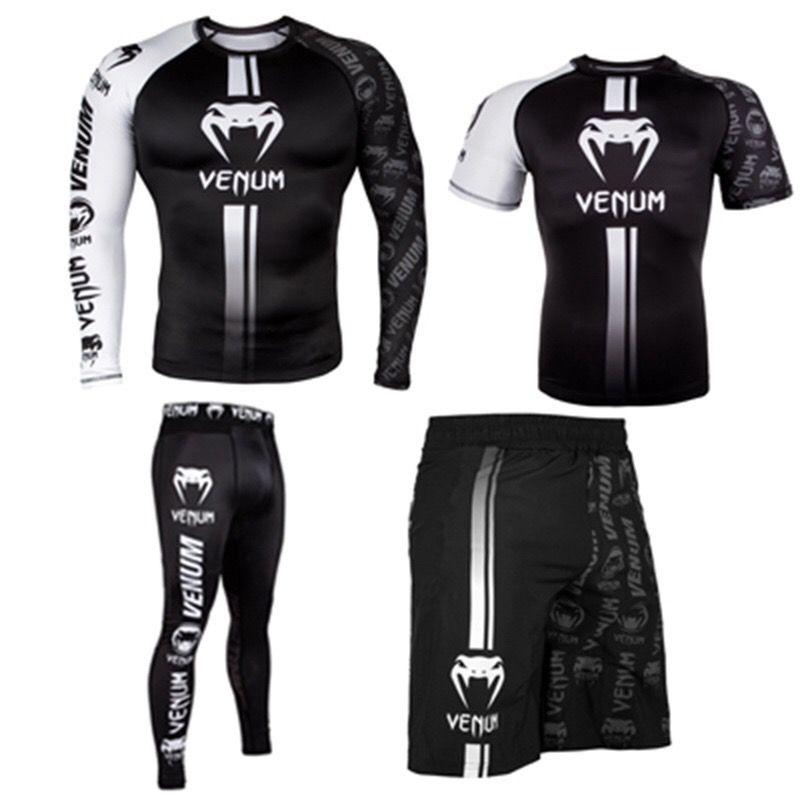 T قميص ملابس رياضية تناسب الرجال TRUNKS مصعد طباعة BJJ الملاكمة rashguard جيو جيتسو غي طفح الحرس الملاكمة تنفس حر سفينة
