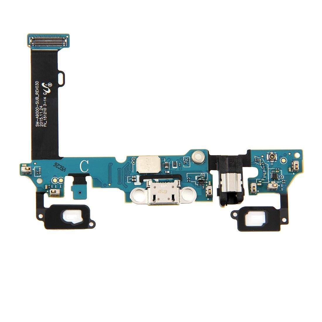 Galaxy A9 Port Sensör Kulaklık Jack Flex Kablo Şarj / A9000