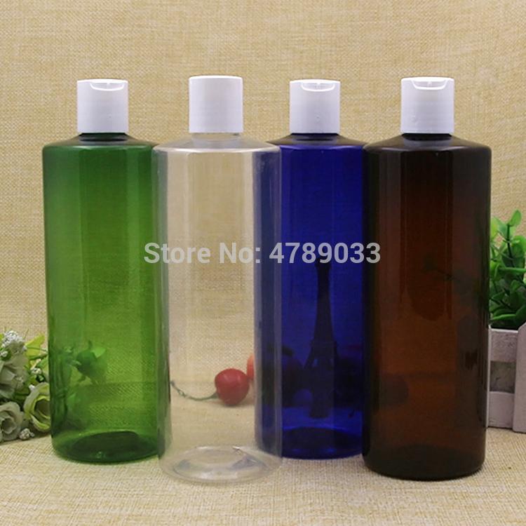 Packflaschen 3/10 stücke 500ml Pressemafer Kunststoff transparente Lotion Nachfüllbarer leerer Disc Top Shampoo Emulsion Kosmetikbehälter