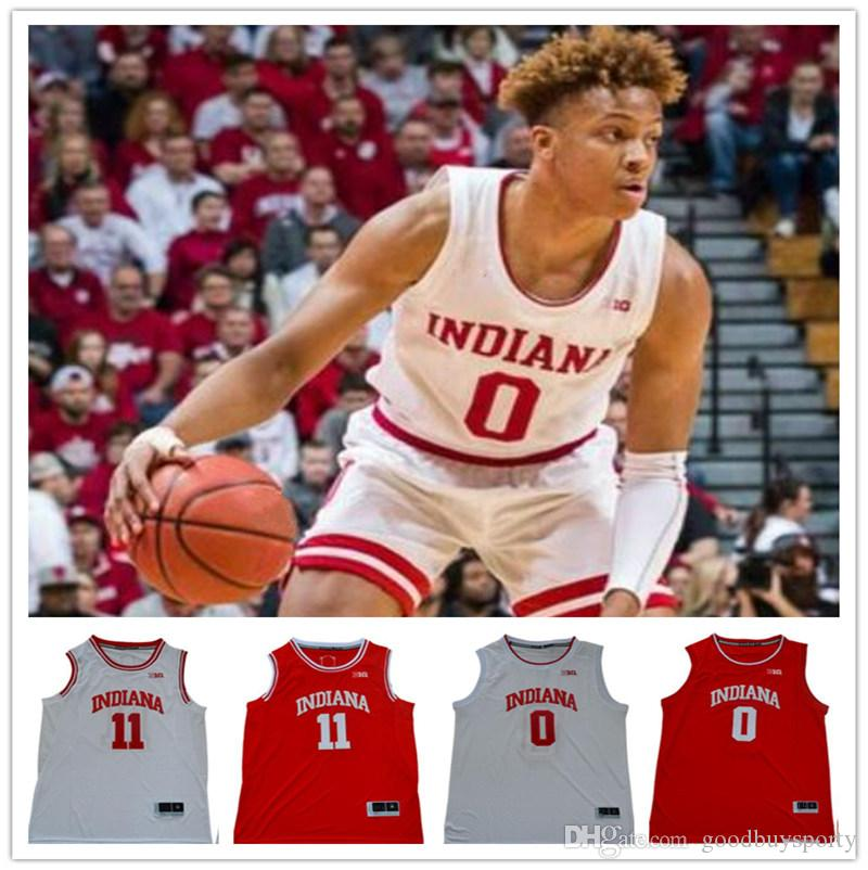 Indiana Cucita Romeo Langford Jersey 0 11 Isaia Thomas Embroidery Jerseys Shirts Sport Basket