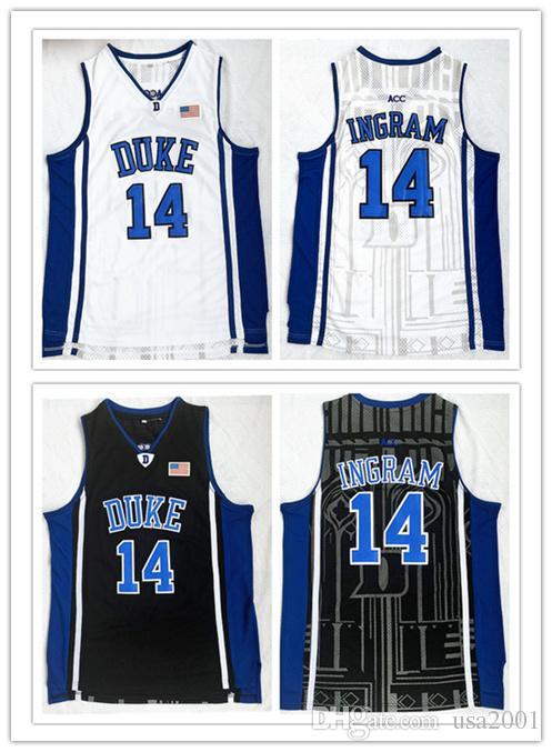 su misura Duke Blue Devils Brandon Ingram uomo donna pullover da basket giovanile taglia S-5XL 14 qualsiasi numero nome