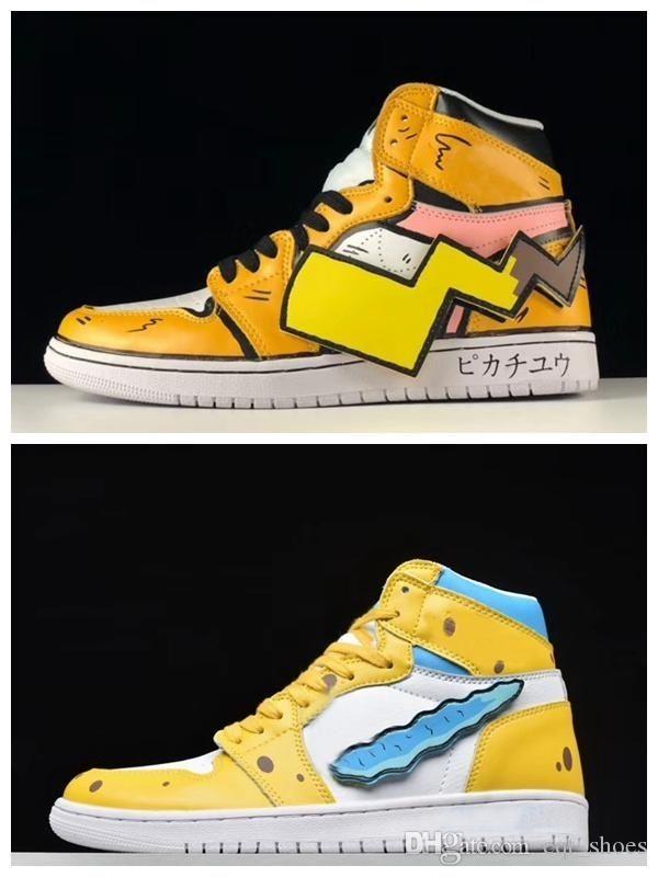 2019 nuevos de la llegada zapatos de baloncesto del Mens TV PE zapatos de las mujeres 1 1s para barato 20th Anniversary Esponja x para mujer de lujo zapatillas deportivas