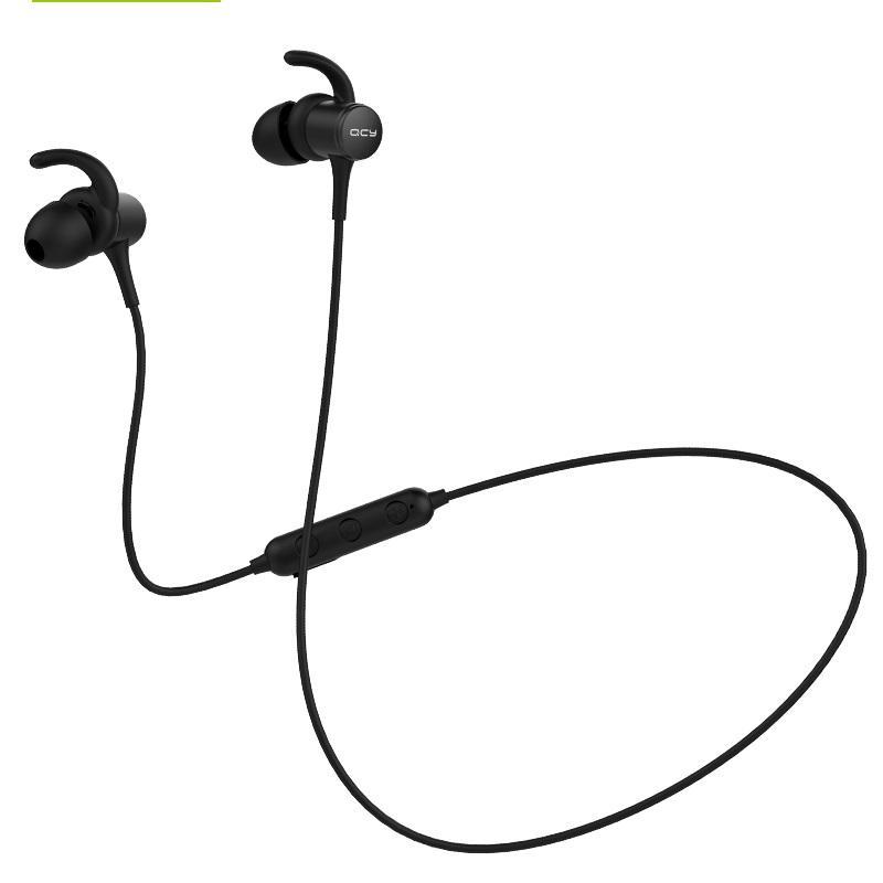 مصنفة IPX5-M1S المغناطيسي V4.2 رقاقة سماعة بلوتوث لاسلكية سماعة الأذن sweatproof الرياضة السنانير سماعة الرأس مع الميكروفون