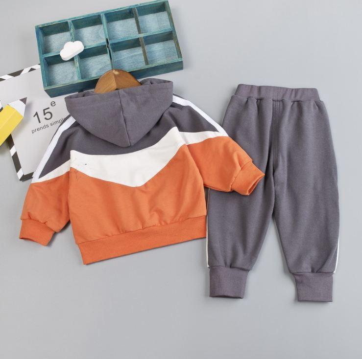 Mädchen-Kleidung Anzug Kleine Mädchen Trainingsanzug Mode Frühling Herbst Lässige Kleidung Sets Oberteil und Hose Neu