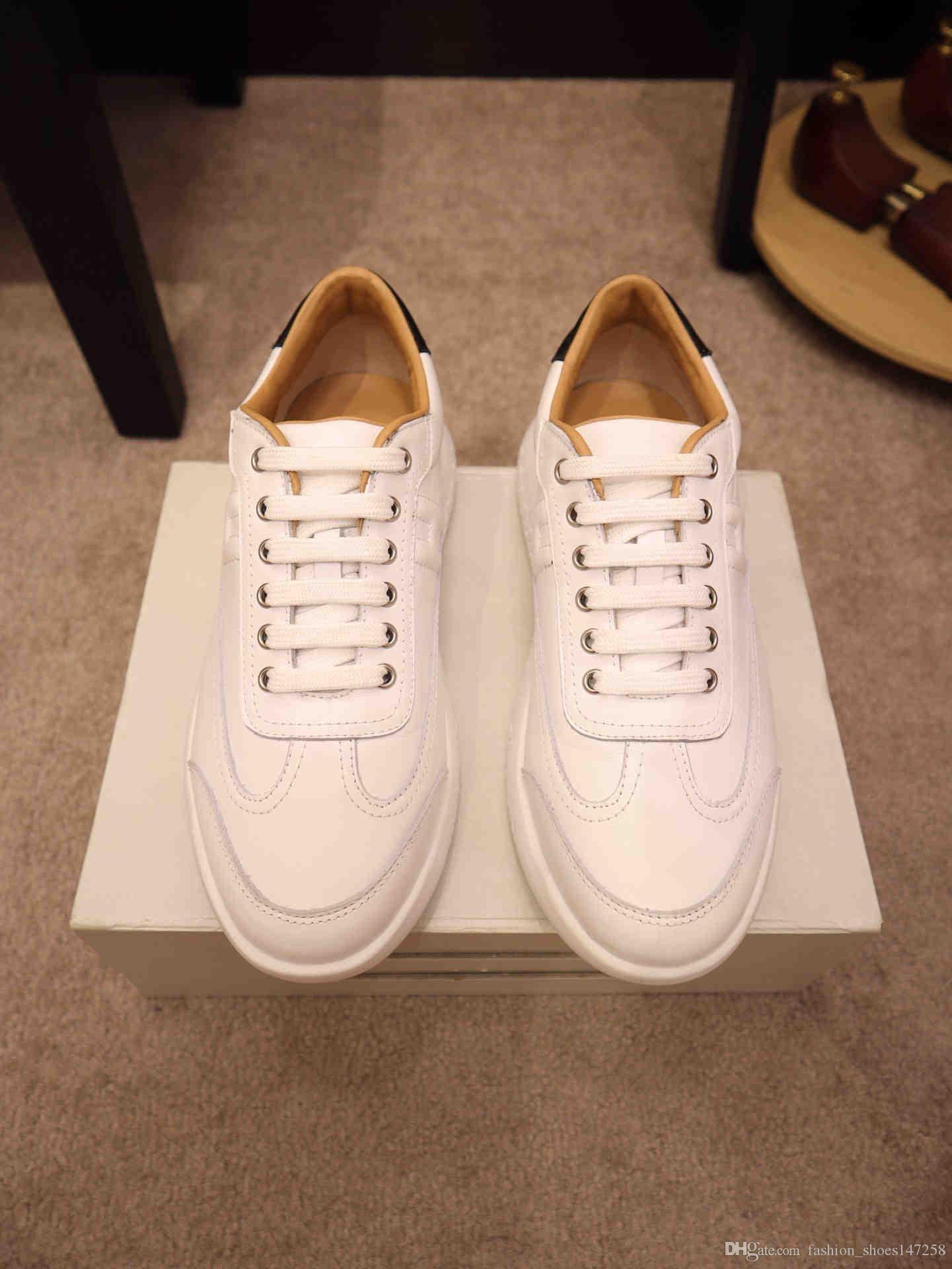 2020 moda casuali le scarpe da tennis degli uomini NUOVI ZJ di alta qualità, pattini di cuoio casuali uomini di disegno scarpe da tennis degli uomini di lusso