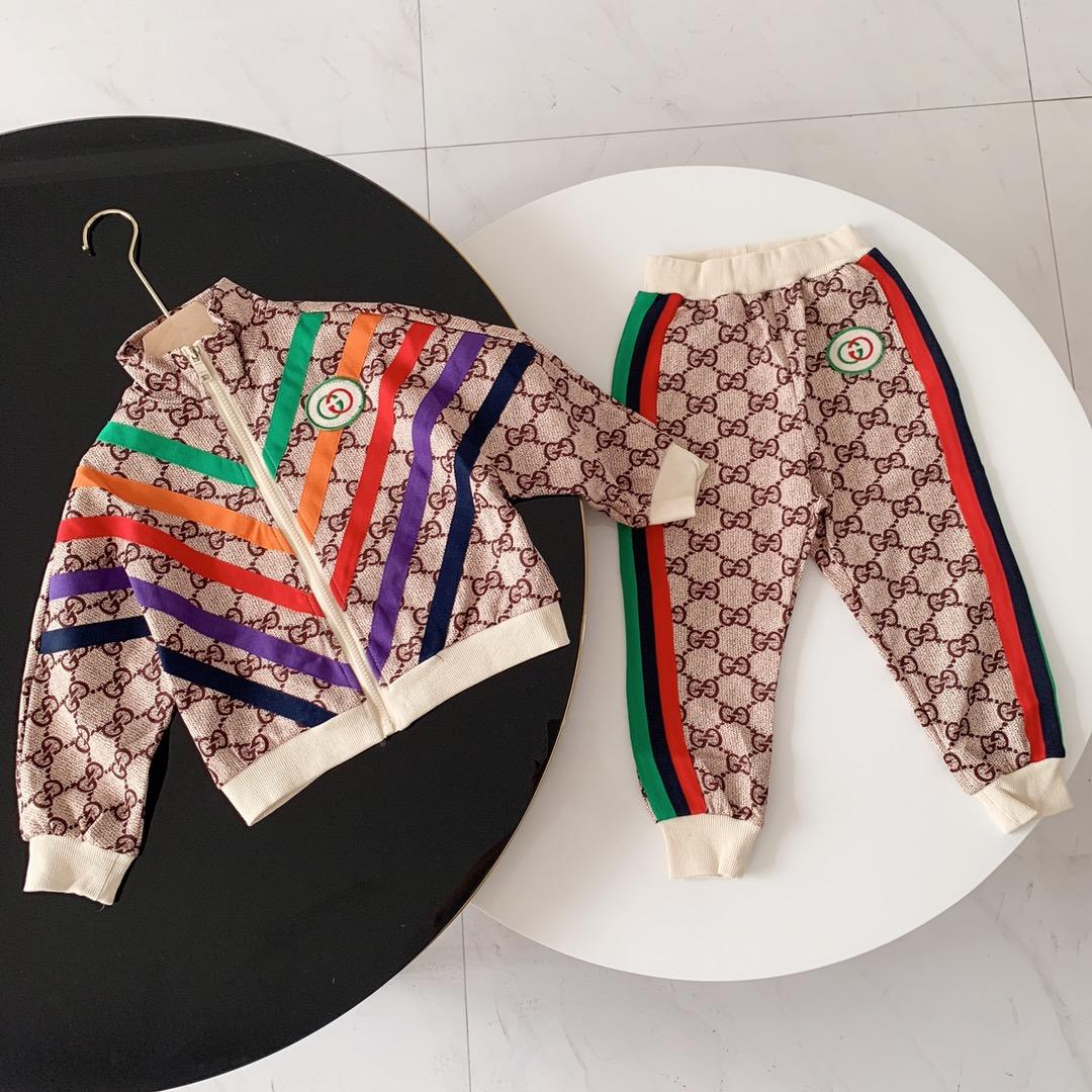 새로운 가을 아이들은 스포츠 소년은 간단한 캐주얼 힙합 컬러 카키 편안 아이들 스웨터 한 벌을 맞게 맞게