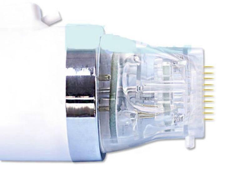 Testina di ricambio usa e getta cartuccia oro frazionaria microneedle microneedling micro ago cartucce macchina punte ricambi