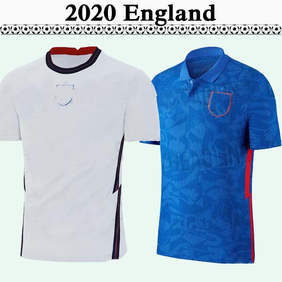 2020 잉글랜드 KANE RASHFORD 남성 축구 유니폼 STERLING 윌셔 VARDY 스터 리지 홈 원정 축구 셔츠 LALLANA DELE HENDERSON 유니폼