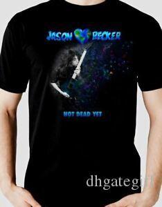 Jason Becker GİTAR KISS MAGIC Müzik Tişörtlü MEN Siyah