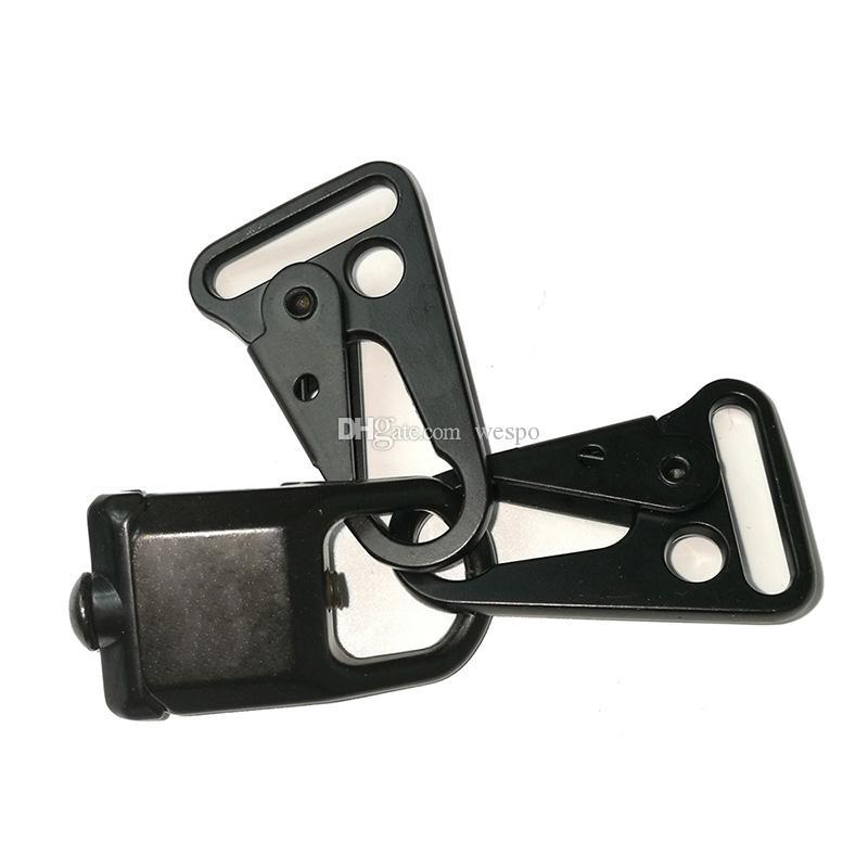 M4 M16 RSA Sling adaptor Rail Attachment AR15 Parts with 2 pcs Sling Strap Metal hooks