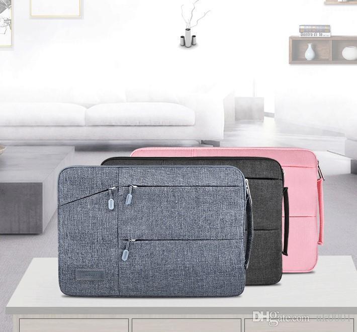 "UK Soft Laptop Sleeve Case Bag for Macbook Air11Pro New Retina 12 13 15 Cover Notebook Handbag 15.6"""