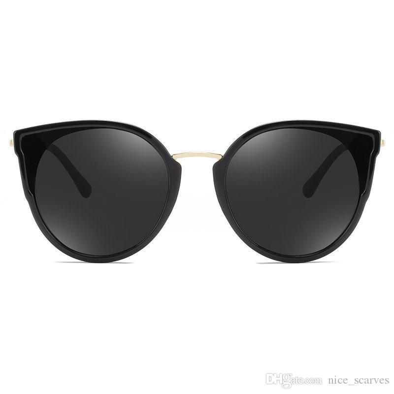 Cat Eye солнцезащитные очки Женщины бренд дизайнер мода градиент солнцезащитные очки Sexy Cateye очки для женщин женские очки