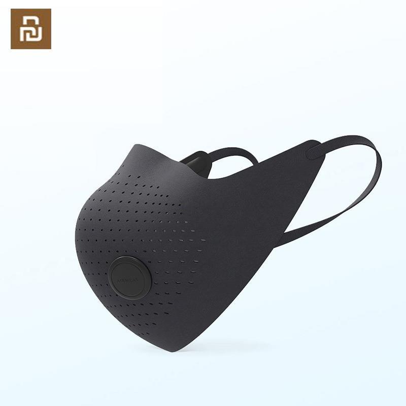 AirPOP Máscara del desgaste Aire PM3.0 PM2.5 anti-niebla Máscara purificador de aire Proporcionar activa de suministro de aire eléctrico de la cara Máscara facial del respirador