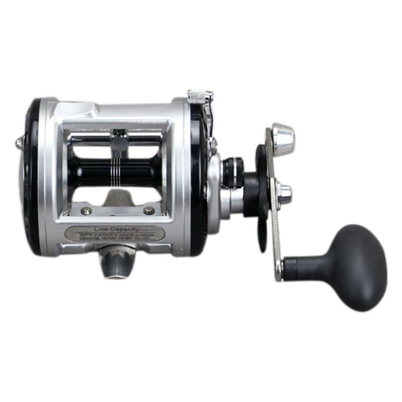 Spool 12+1BB Ball Bearing Metal Fishing Spinning Trolling Reel Tackle JCA Series