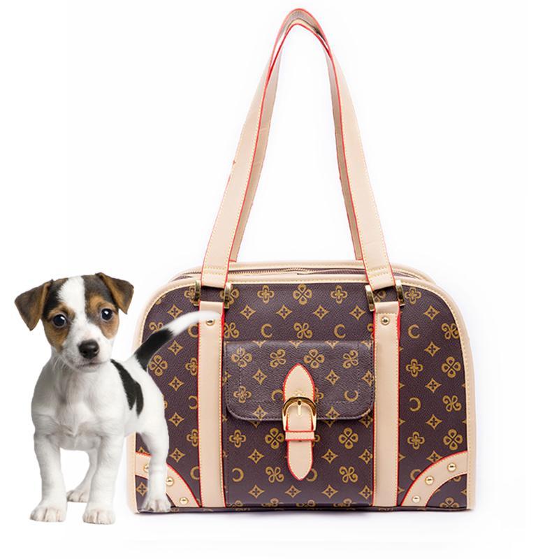 Petit porteur Voyage chien chien sac à main sac sac sac de compagnie sac à fourre-tout chat pliable extérieur portable portable shoppy nokfv